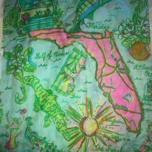 Lilly Pulitzer Sunshine State Scarf